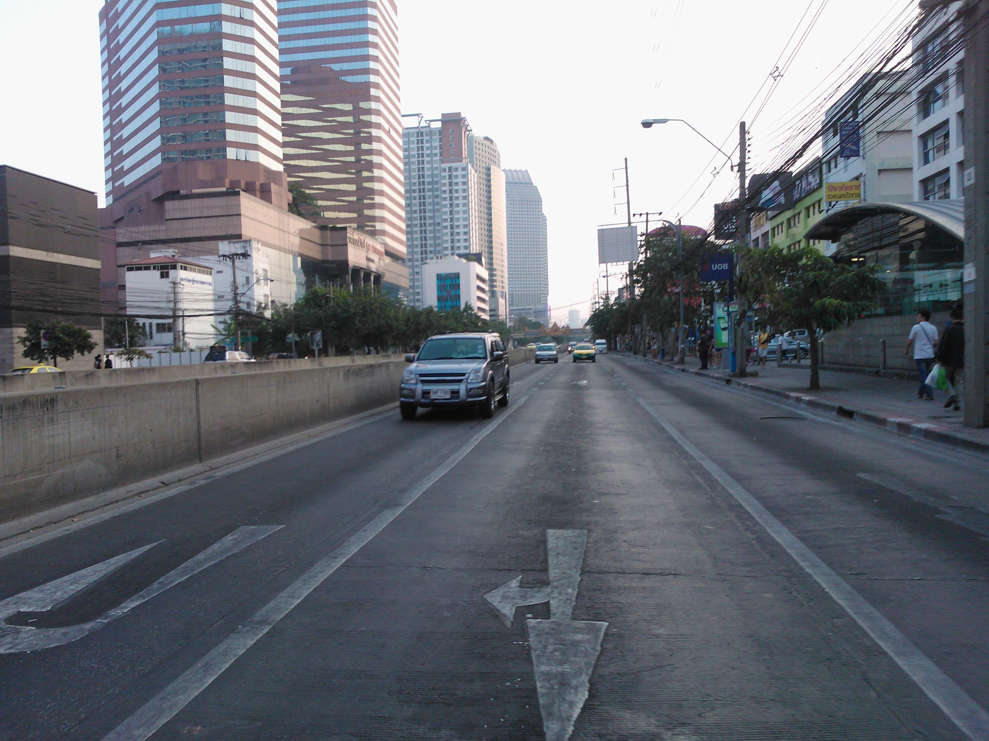 渋滞都市バンコク