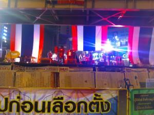 バンコクのデモ写真