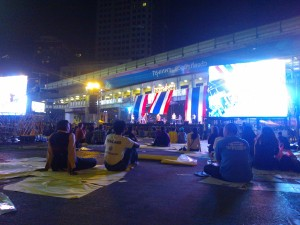 バンコクのデモ写真02