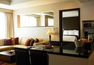 マリオットエクゼクティブスクンビットパーク24の1ベッドルームの写真02