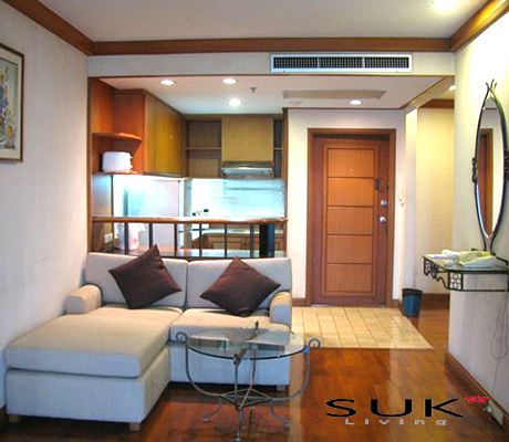 Monthira Apartmentの1BEDルームの写真01