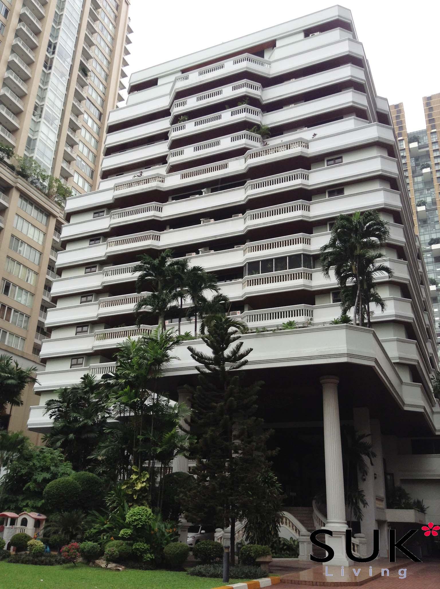 ガーデンビューマンションの外観の写真