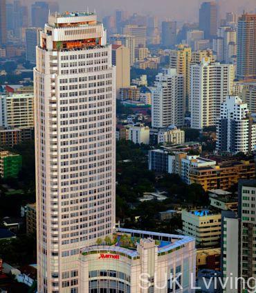 バンコクの不動産 マリオット エグゼクティブ アパートメント スクンビット トンローの外観の写真